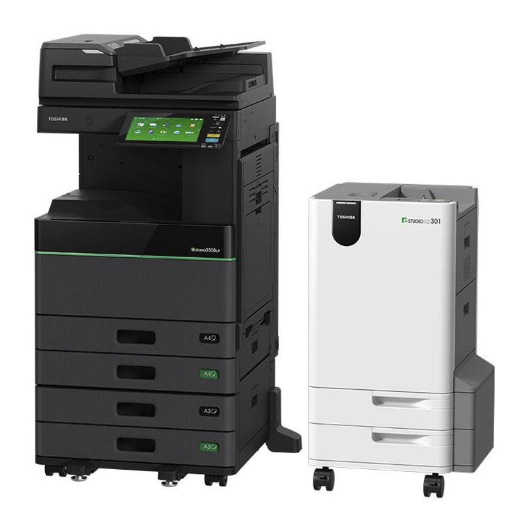 The world's first Black and White MFP with erasable print function